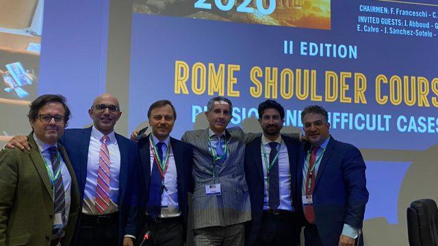 Rome Shoulder Course 2020 Fotogallery